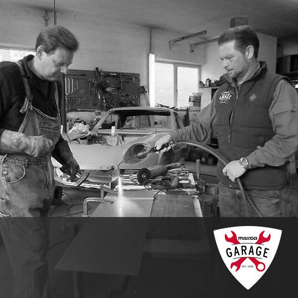 Mazda Garage | Youtube Serie
